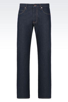 Armani Pantaloni 5 tasche Uomo jeans comfort fit in cotone stretch
