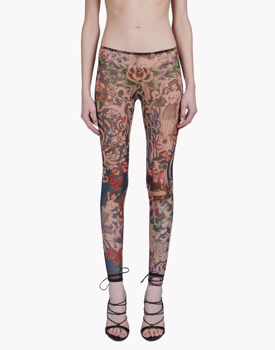 tattoo leggings underwear Woman Dsquared2