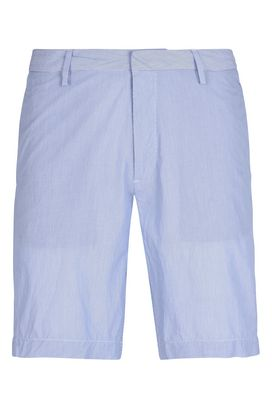 Armani Bermuda shorts Men solid colour striped cotton shorts