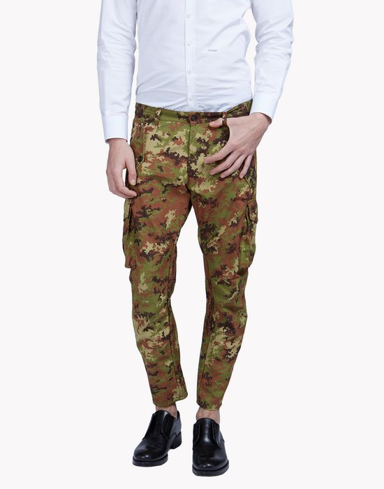 camouflage cargo pants trousers Man Dsquared2