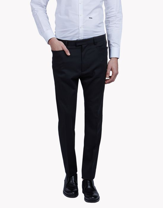 wool-twill chinos pantaloni Uomo Dsquared2
