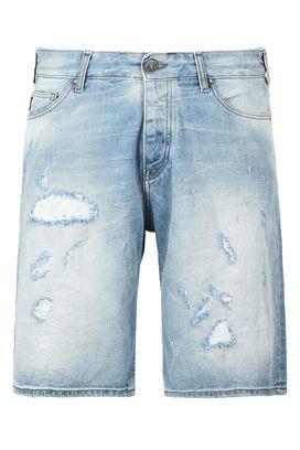 Armani Bermuda jeans Uomo shorts in jeans con strappi