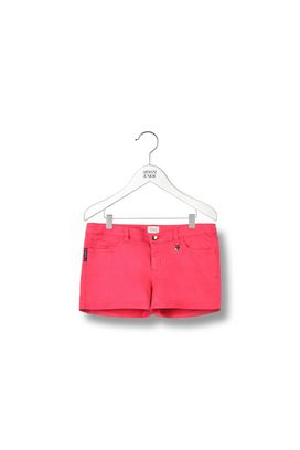 Armani Shorts  Women cotton drill shorts