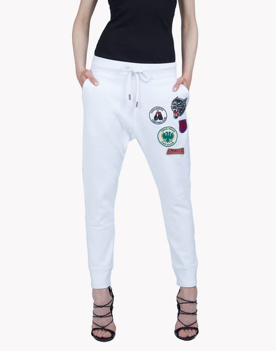 patch sweatpants trousers Woman Dsquared2
