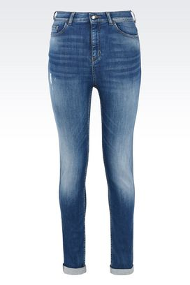Armani Jeans Women super skinny stretch cotton jeans