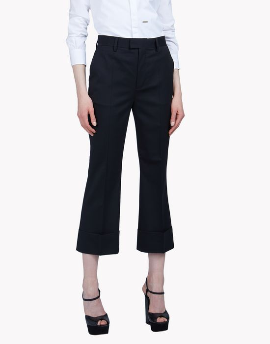 cool wool pants trousers Woman Dsquared2