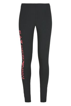 Armani Leggings Donna pantaloni leggings in cotone stretch