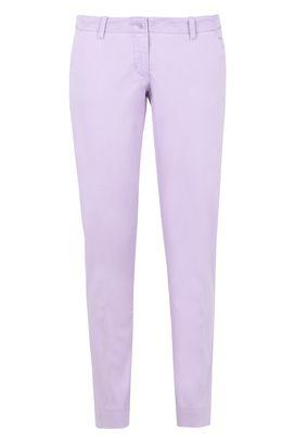 Armani Pantaloni a sigaretta Donna pantaloni chino in cotone modal