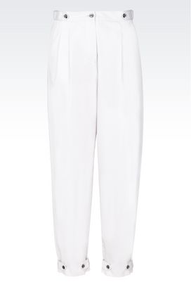 Armani Pants with tucks Women pants