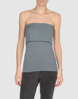 DONNA KARAN Tube tops - Item 37234847