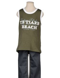 VINTAGE 55 - Sleeveless t-shirt