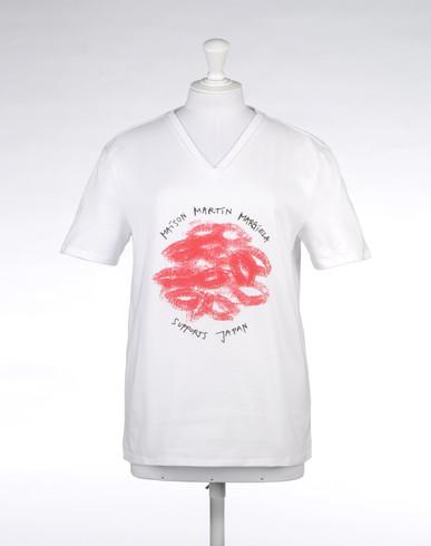 MAISON MARGIELA 10 Kurzärmliges T-Shirt