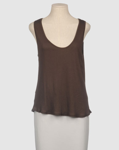 FINE COLLECTION - Sleeveless t-shirt