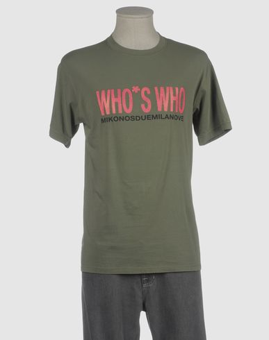 WHO*S WHO - Short sleeve t-shirt