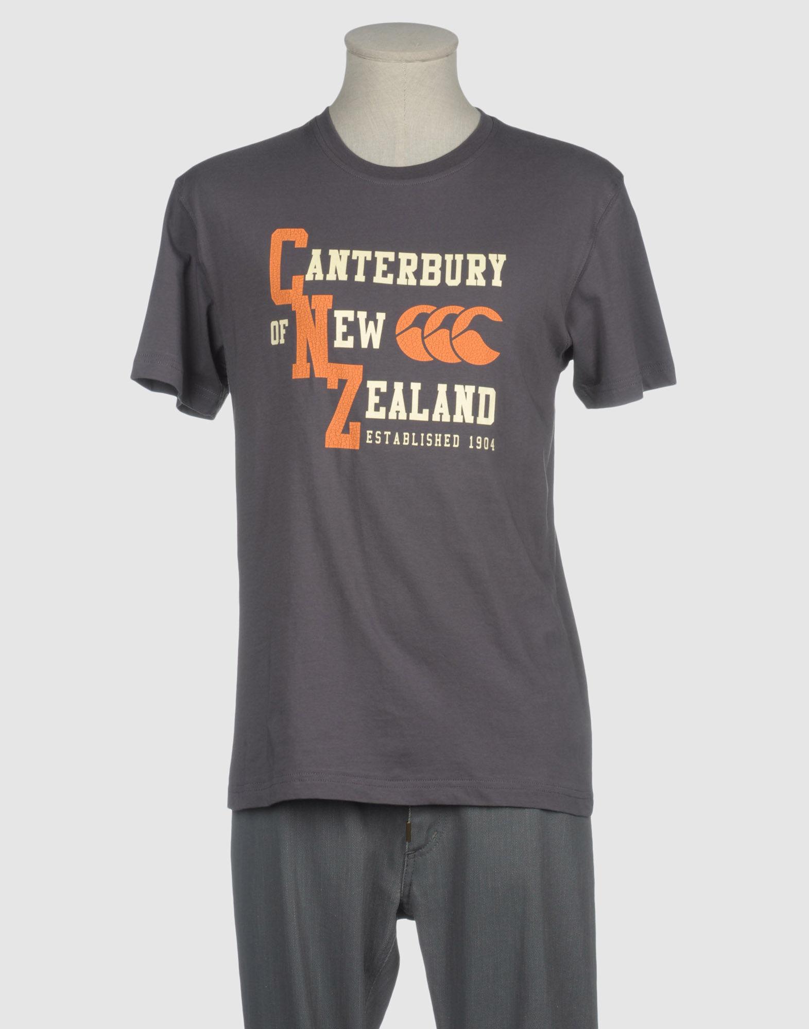 CANTERBURY OF NEW ZEALAND Short sleeve t-shirts