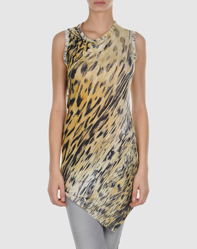 ROBERTO CAVALLI - Sleeveless t-shirt