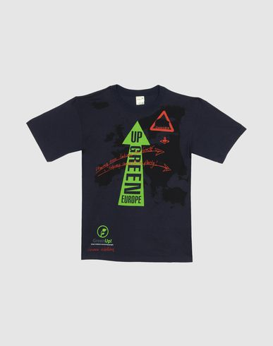 GREEN UP BY VIVIENNE WESTWOOD - T-shirt manches courtes
