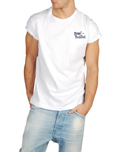DIESEL - Short sleeves - T-RIDDY-RS 0091B
