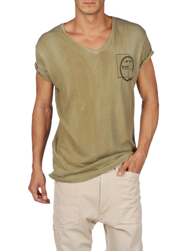 DIESEL - Short sleeves - T-BERNY-RS 00PQJ