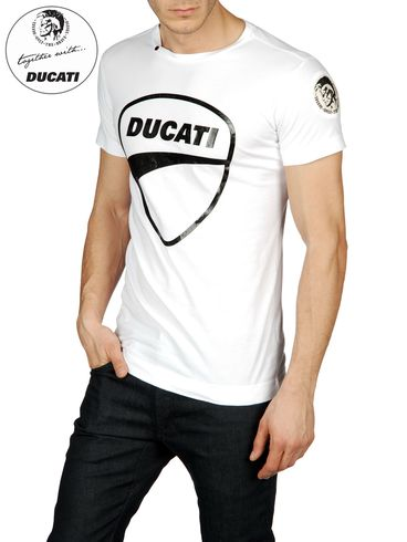 DIESEL - Camiseta - DU-SADDLE 00MOH