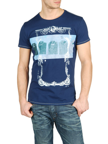 DIESEL - Short sleeves - T-FRAME-RS