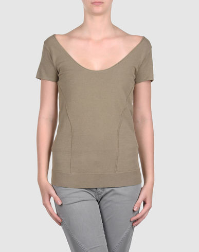 DONNA KARAN - Short sleeve sweater