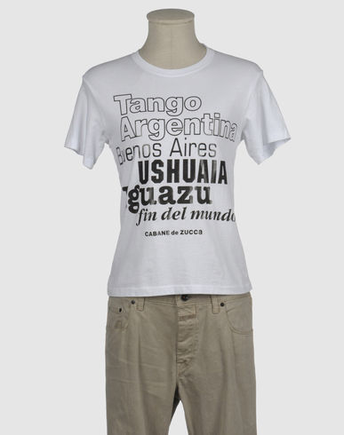 CABANE de ZUCCA - Short sleeve t-shirt