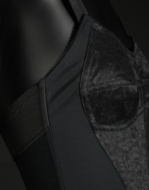 Corsetted bodysuit - Tops - Dolce&Gabbana - Summer 2016