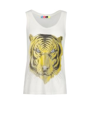 Sleeveless t-shirt Women's - MSGM