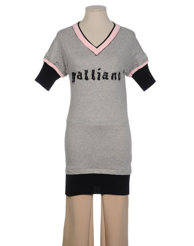 GALLIANO - Short sleeve t-shirt