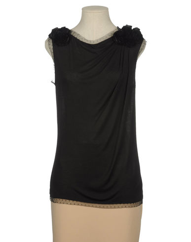 VALENTINO T-SHIRT COUTURE - Sleeveless t-shirt
