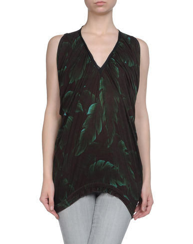 LANVIN - Sleeveless t-shirt