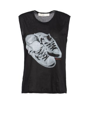 Sleeveless t-shirt Women's - GOLDEN GOOSE