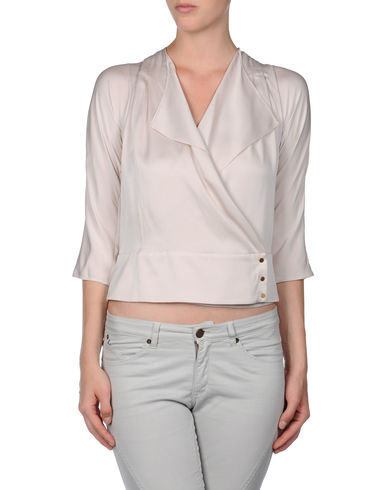 DIANE VON FURSTENBERG - Shirt with 3/4-length sleeves