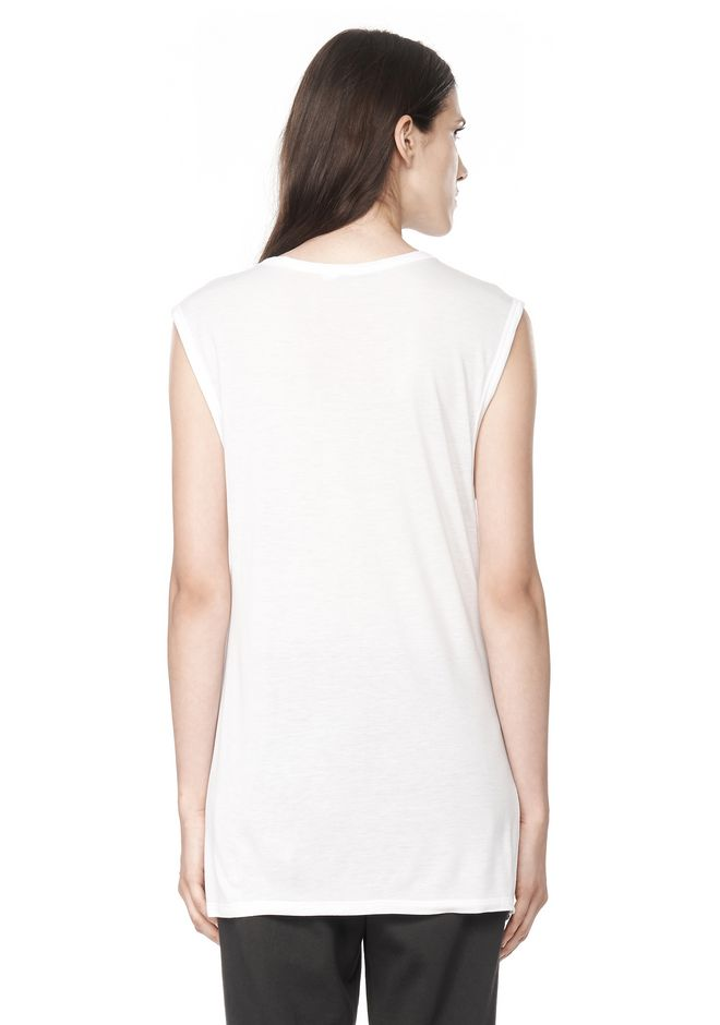 T by ALEXANDER WANG CLASSIC MUSCLE TEE WITH POCKET T-Shirt Adult 12_n_d