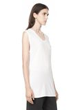 T by ALEXANDER WANG CLASSIC MUSCLE TEE WITH POCKET T-Shirt Adult 8_n_a