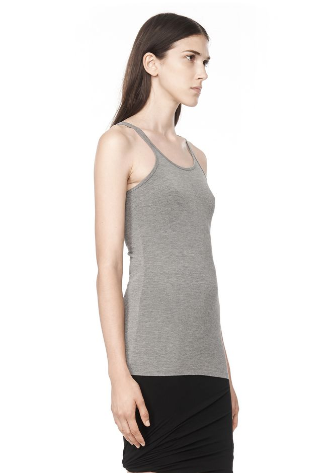 T by ALEXANDER WANG MODAL SPANDEX CAMI TANK TOP Adult 12_n_a