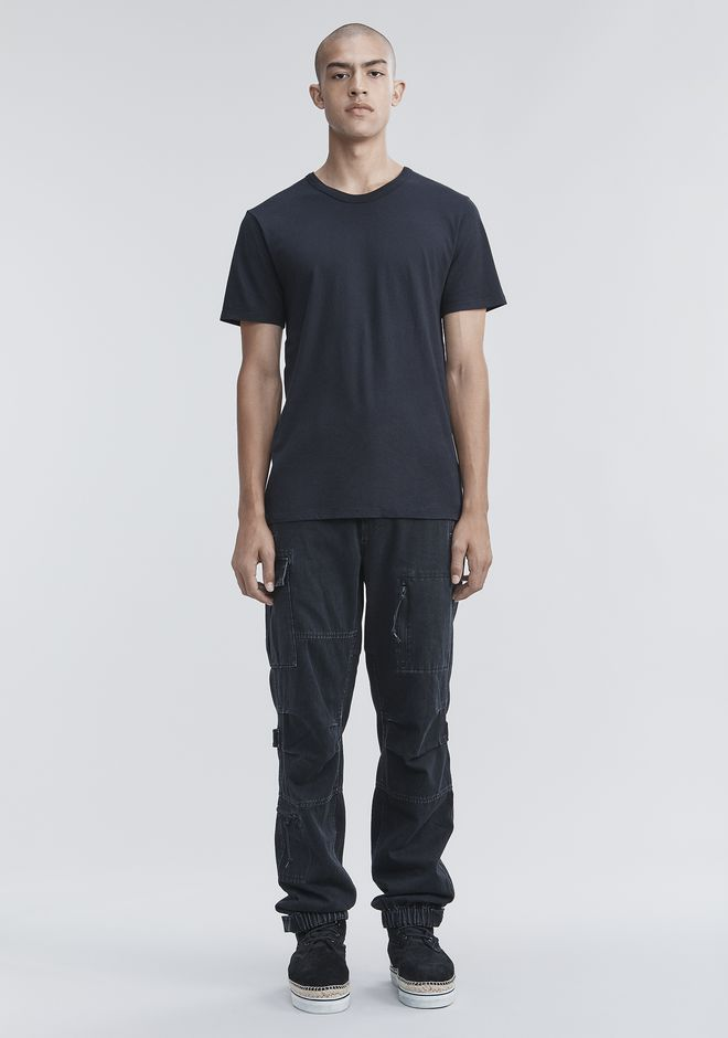 T by ALEXANDER WANG CLASSIC SHORT SLEEVE TEE Short sleeve t-shirt Adult 12_n_f