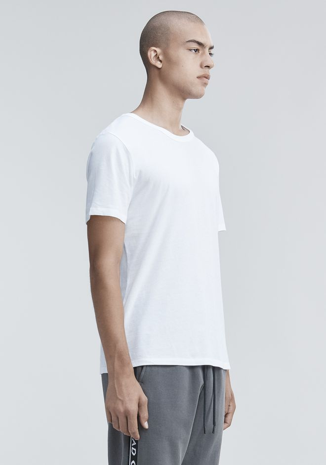 T by ALEXANDER WANG CLASSIC SHORT SLEEVE TEE Short sleeve t-shirt Adult 12_n_a