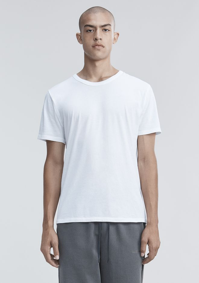 T by ALEXANDER WANG CLASSIC SHORT SLEEVE TEE Short sleeve t-shirt Adult 12_n_e