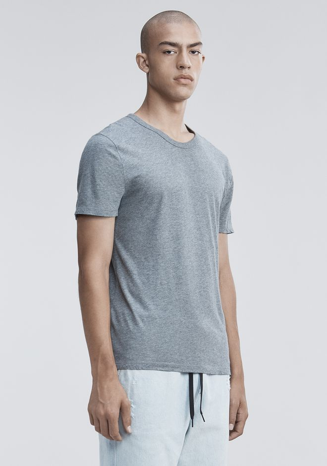 T by ALEXANDER WANG CLASSIC SHORT SLEEVE TEE Short sleeve t-shirt Adult 12_n_a