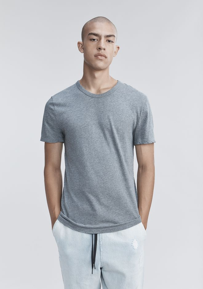 T by ALEXANDER WANG CLASSIC SHORT SLEEVE TEE Short sleeve t-shirt Adult 12_n_r