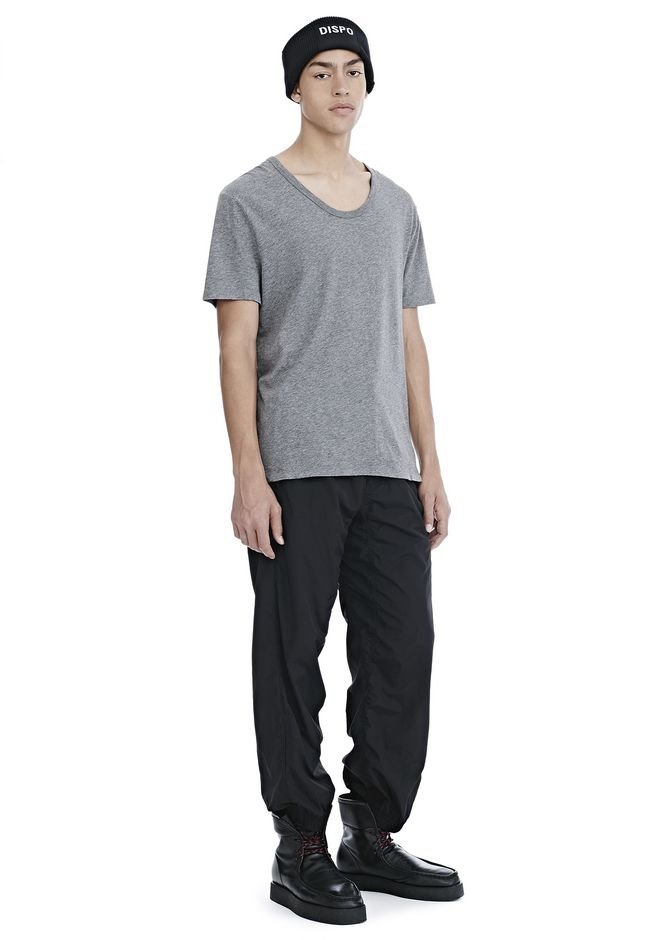 T by ALEXANDER WANG CLASSIC LOW NECK TEE