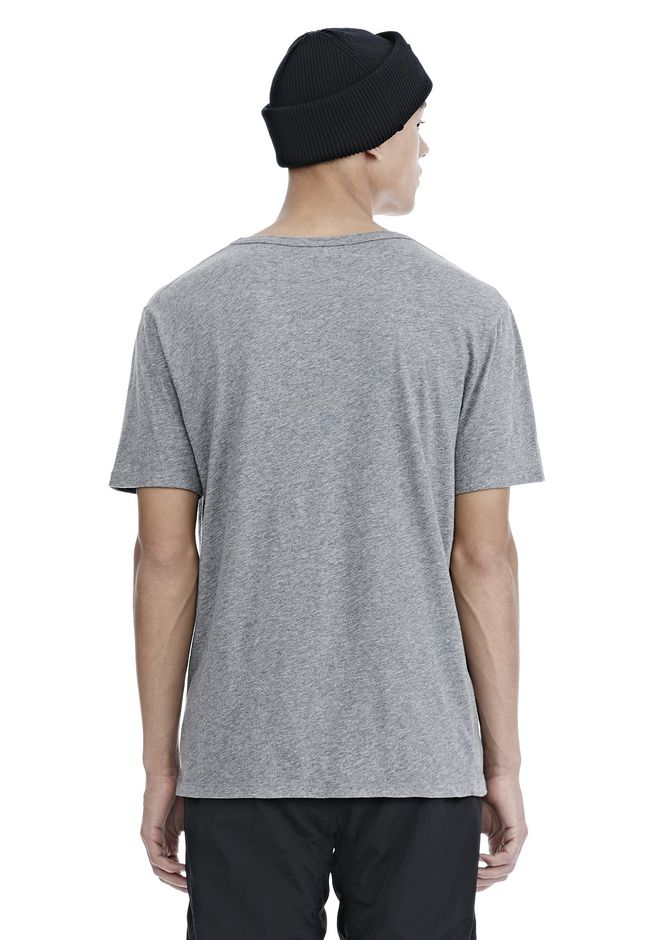 T by ALEXANDER WANG CLASSIC LOW NECK TEE TEE Adult 12_n_d