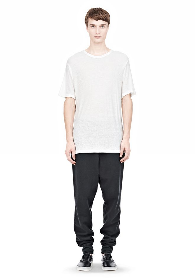 T by ALEXANDER WANG SLUB RAYON SILK LOW NECKTEE TEE Adult 12_n_f