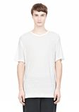 T by ALEXANDER WANG SLUB RAYON SILK LOW NECKTEE TEE Adult 8_n_e