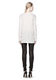 T by ALEXANDER WANG CLASSIC LONG SLEEVE TEE WITH POCKET Long sleeve t-shirt Adult 8_n_r