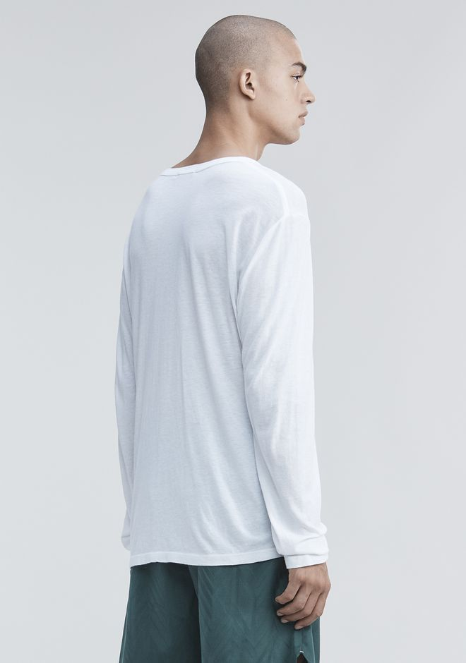 T by ALEXANDER WANG CLASSIC LONG SLEEVE TEE Long sleeve t-shirt Adult 12_n_d