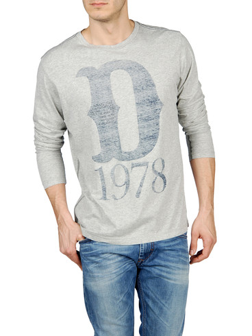 DIESEL - Long sleeves - T-ATON-R 00DFM