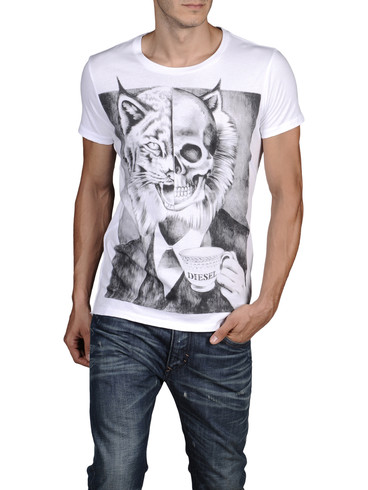 DIESEL - Short sleeves - T-TATARO-RS 0091B